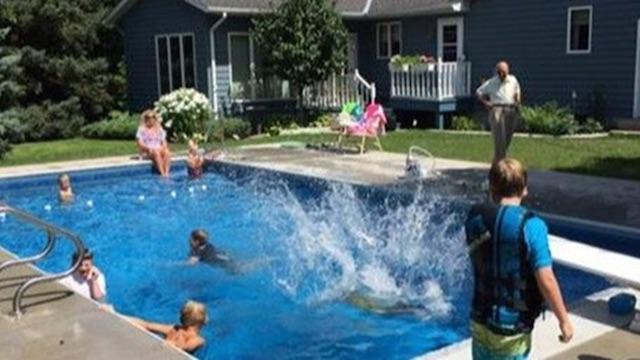 How a Swimming Pool for Neighborhood Kids Helped Heal a Man Afte