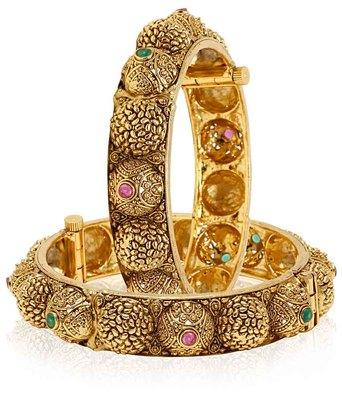 Multicolor Designer CZ Bangles at Best Price