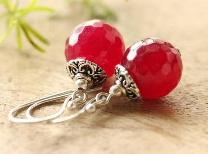 Free shipping on Red Colour Earrings
