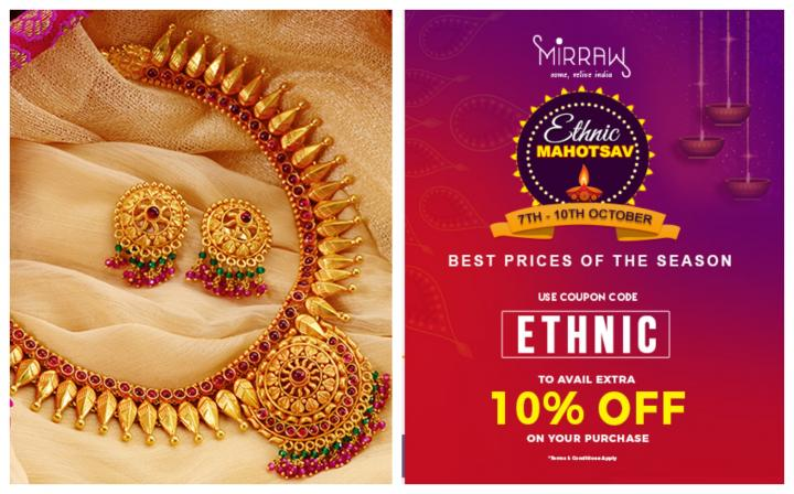 Buy 3 Get 6 Free on Fashion Jewellery at Mirraw