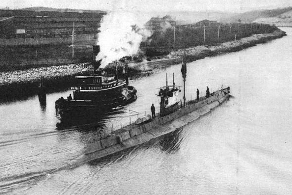 American Submarine Technology for Spain, 1917 - Scientific American Blog Network