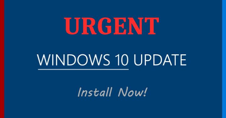 Update Windows 10 Immediately to Patch a Flaw Discovered by the