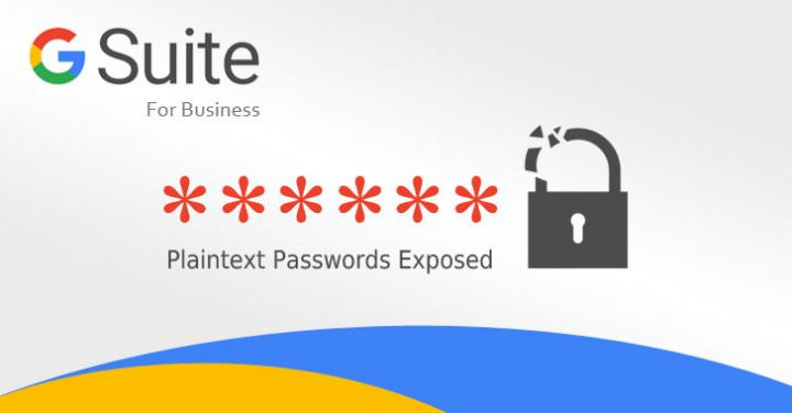 Google Stored G Suite Users' Passwords in Plain-Text for 14 Year