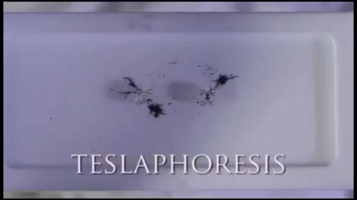 Teslaphoresis - Self Assembling Nano Wire In Seconds.