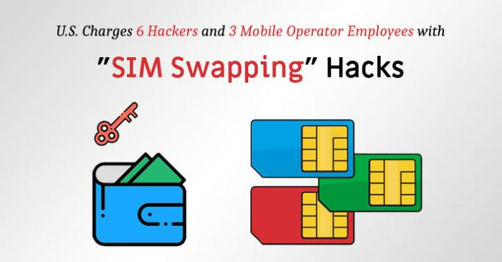 U.S. Charges 9 'SIM Swapping' Attackers For Stealing $2.5 Millio