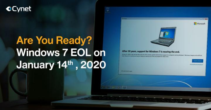 Are You Ready for Microsoft Windows 7 End of Support on 14th Jan