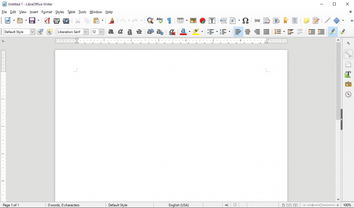 Libre Office 100% Free - Forum Topic View - Happy As Is